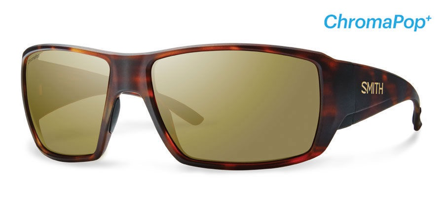 Smith Guide's Choice Matte Havana ChromaPop Polarized Bronze Mirror