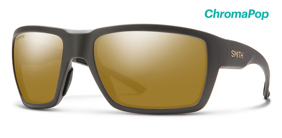 Smith Highwater Matte Gravy ChromaPop+ Polarized Bronze Mirror