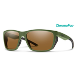 Smith Longfin Matte Moss ChromaPop polarized Brown
