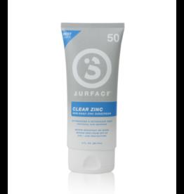 Surface SPF50 Clear Zinc Sunscreen Lotion 3oz