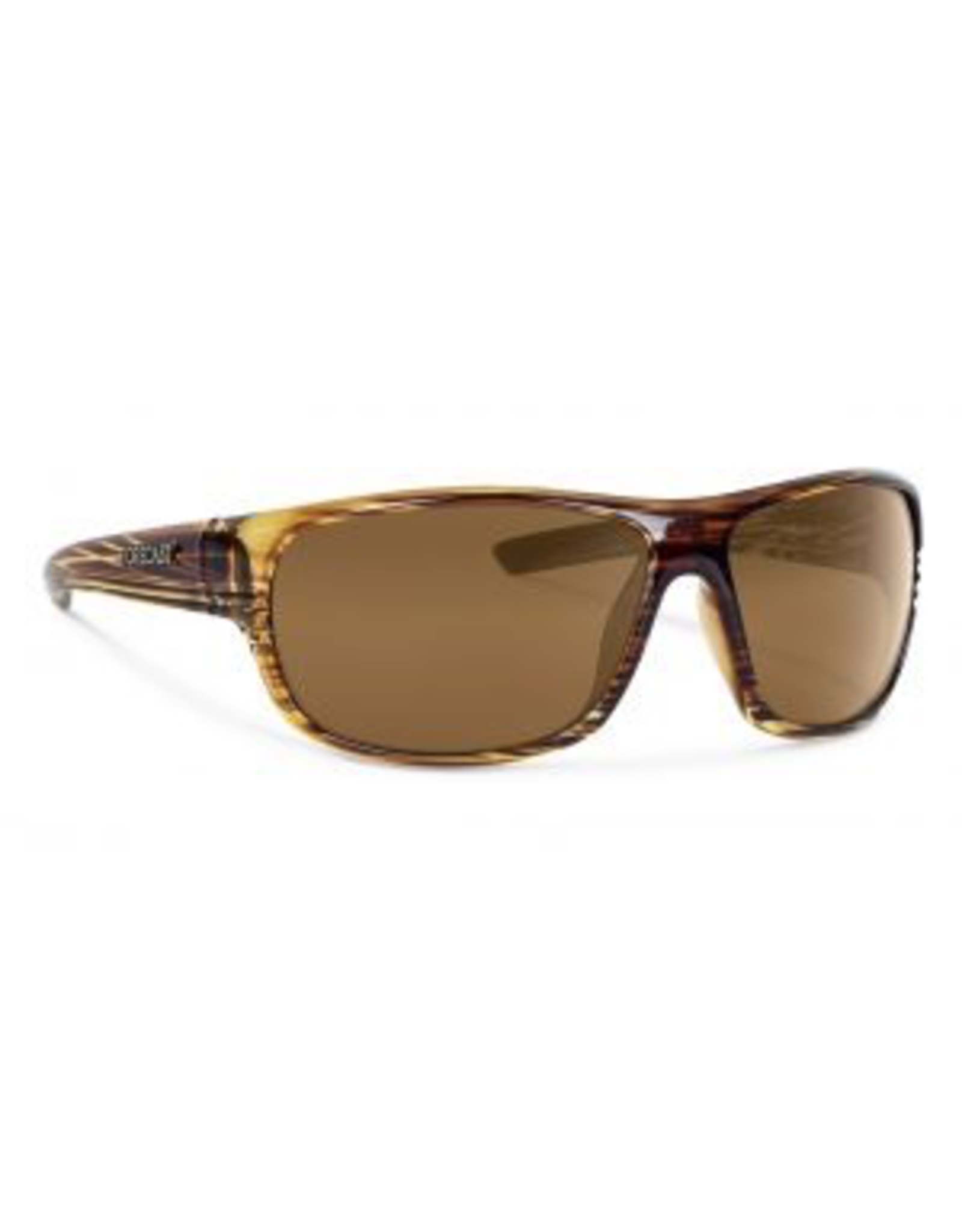 Forecast Optics Scout Matte Brown/Gold Mirror Polarized
