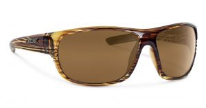 Forecast Optics Scout Matte Brown/Gold Mirror Polarized