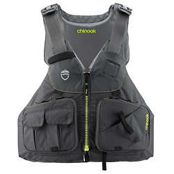 NRS Chinook Fishing PFD Charcoal