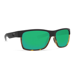 COSTA Half Moon MT Black/SH Tortoise Green Mirror 580P