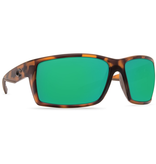 COSTA Reefton Matte Retro Tortoise Green Mirror 580P