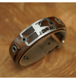 Sightline Dry Fly 2.0 Leather Bracelet