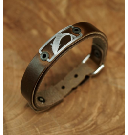 Sightline Trout (Skinny) Leather Bracelet