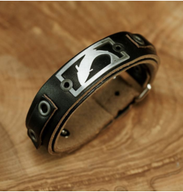 Sightline Trout Leather Bracelet