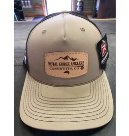 RGA Leather Patch Trucker (Khaki/ Coffee)