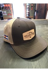 Feast your eyes on the coolest leather patch twill hat to ever hit the water!