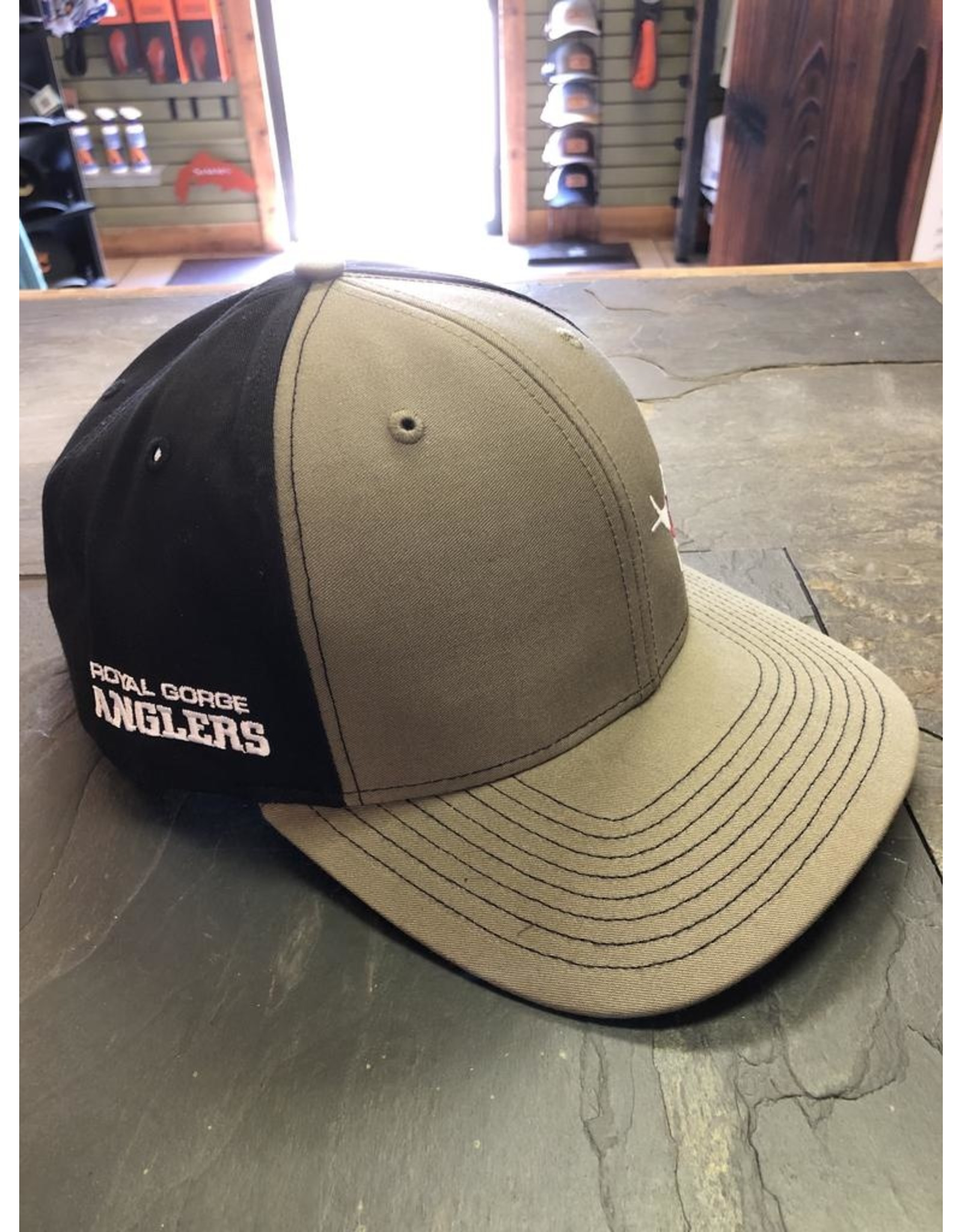 Feast your eyes on the coolest twill hat to ever hit the water!