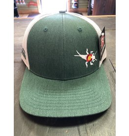 RGA Stonebug Trucker- LoPro (Dark Green/ Lt Grey)