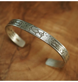 Sightline Thin Line Metal Bracelet (Grand Slam)