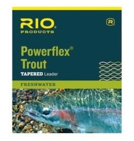Rio Powerflex Trout Leader single pack