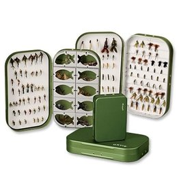 Orvis Lightweight Aluminium Fly Box 6 compartment small
