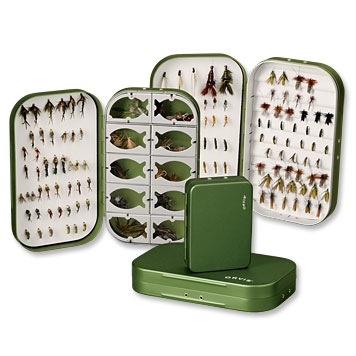 65bcccc90a different sunglasses frames Source · Orvis Lightweight Aluminium Fly Box 6  compartment small Royal
