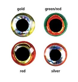 Orvis Jurassic Eyes Grn/Red 6.0mm