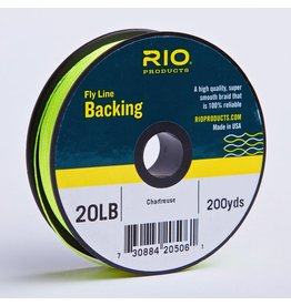 RIO Fly LIne Backing 20 lb 200yds (Chartreuse)