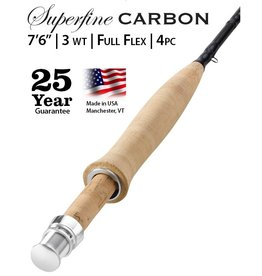 "Orvis Superfine Carbon 7'6"" 3wt (4pc)"