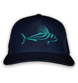 Rep Your Water Rooster Fish Hat