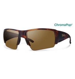 SMITH Captain's Choice (ChromaPop Polarized Brown) Matte Havana Frame