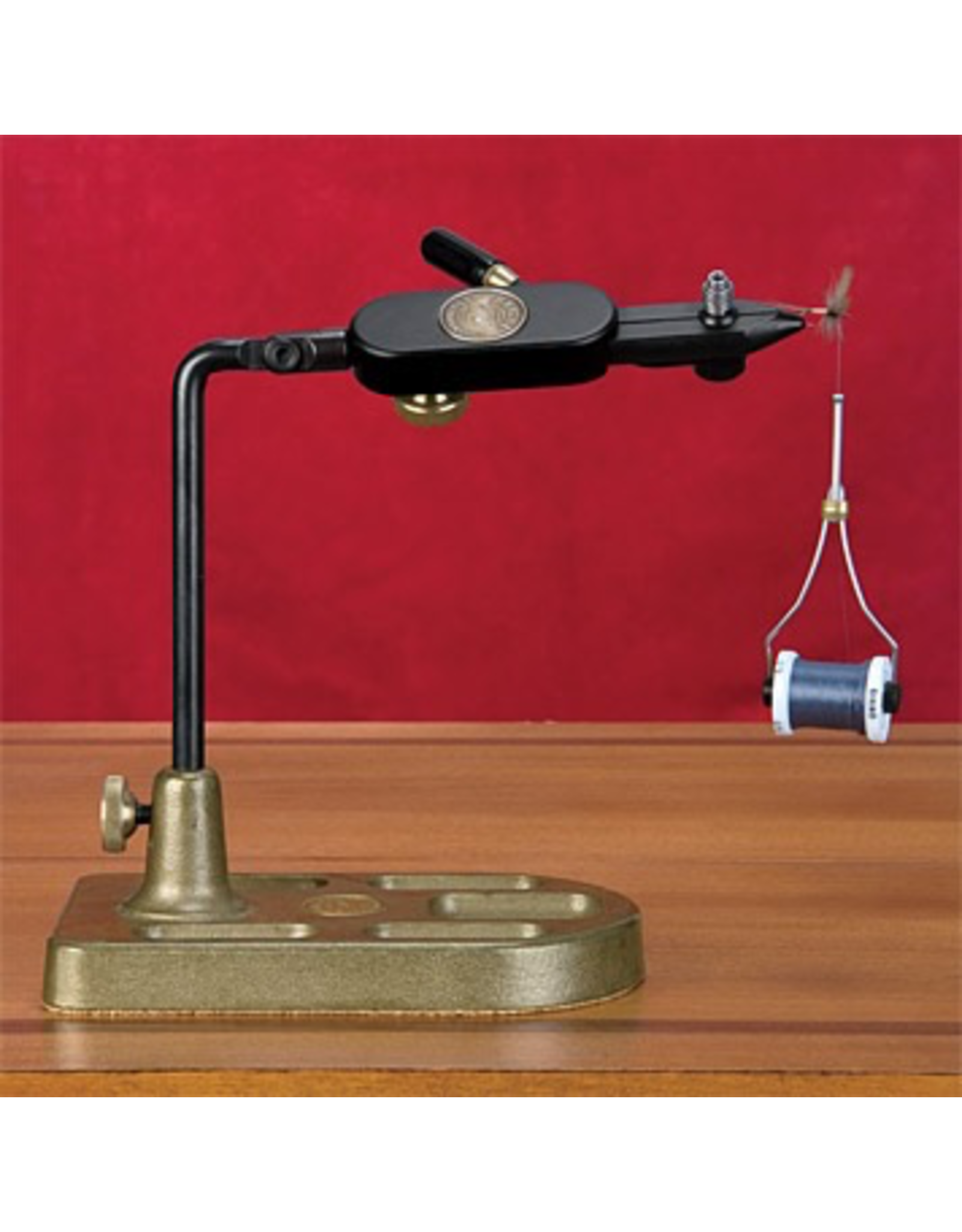 Nothing helps to pass the off-season better than a terrific fly-tying vise. Made in USA.