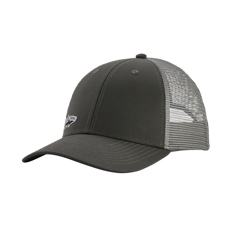 Patagonia Small Fitz Roy Tarpon Trucker Hat Forge Grey