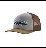 Patagonia Fitz Roy Trout Trucker Hat  Drifter Grey w/Sage