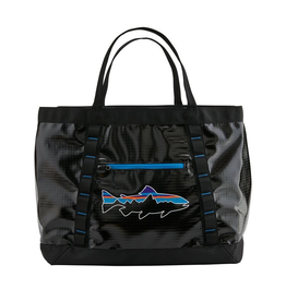 Patagonia Black Hole Gear Tote Black w/ Fitz Roy Trout