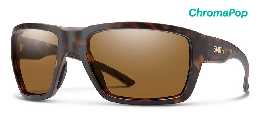 Smith Highwater ChromaPop Plus Matte Dark Amber Tort/Polarized Brown