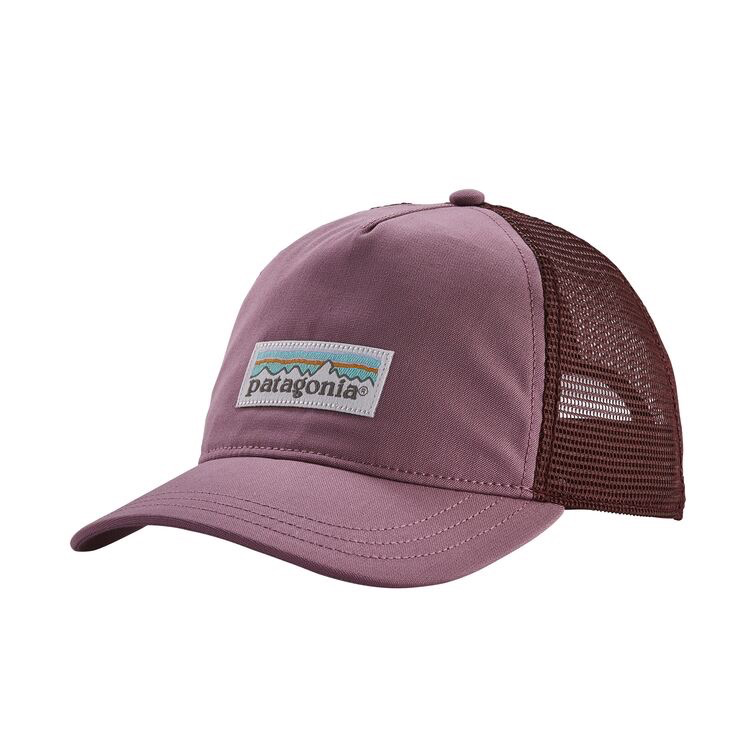 A women's-specific trucker-style hat featuring a pliable organic cotton front panel, a soft polyester mesh back and an adjustable snap closure. Fair Trade Certified™ sewn.