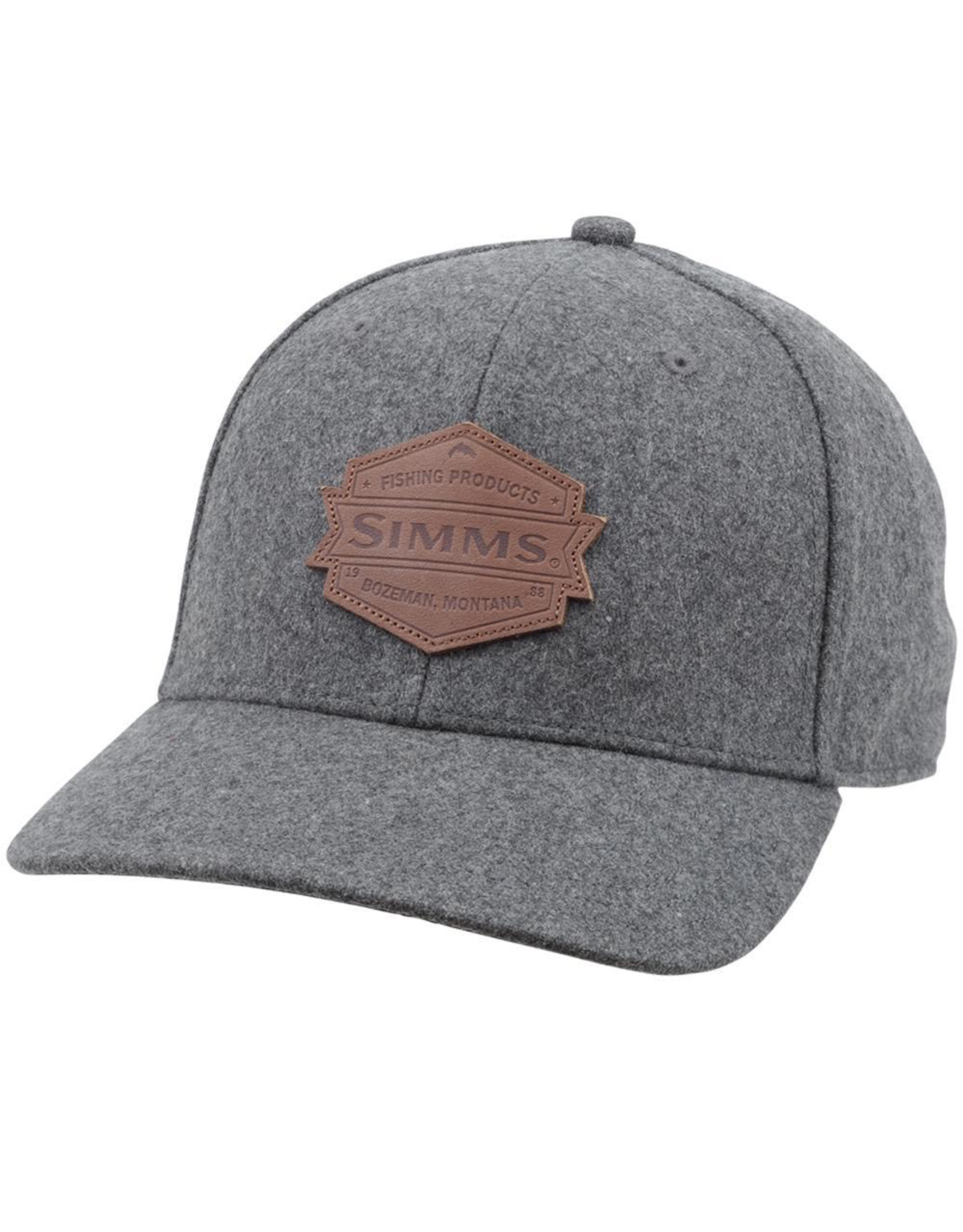 The shoulder season cap that offers a mid-crown fit, pre-curved brim, and a wool blend knit for boat to bar style.