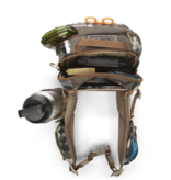 The ultimate flyfishing beast-of-burden, the Ledges 650's stiff back-panel and padded waist belt provide all-day comfort and easy rotation.