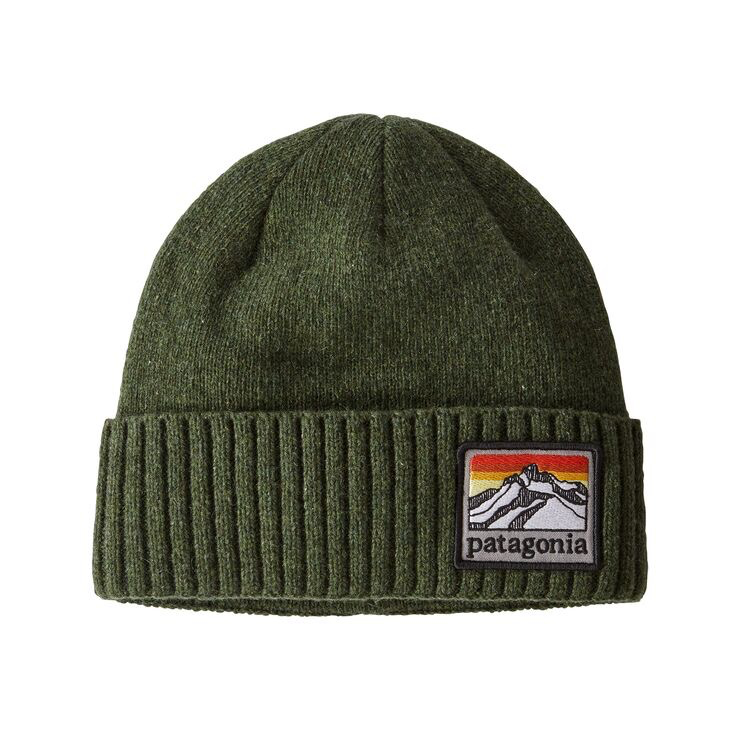 Patagonia Brodeo Beanie Industrial Green
