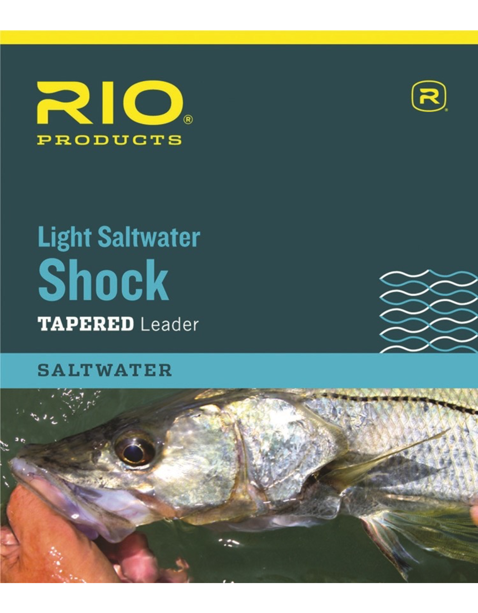 MEDIUM-STIFF TAPERED LEADERS WITH A TOUGH FLUOROCARBON SHOCK TIPPET