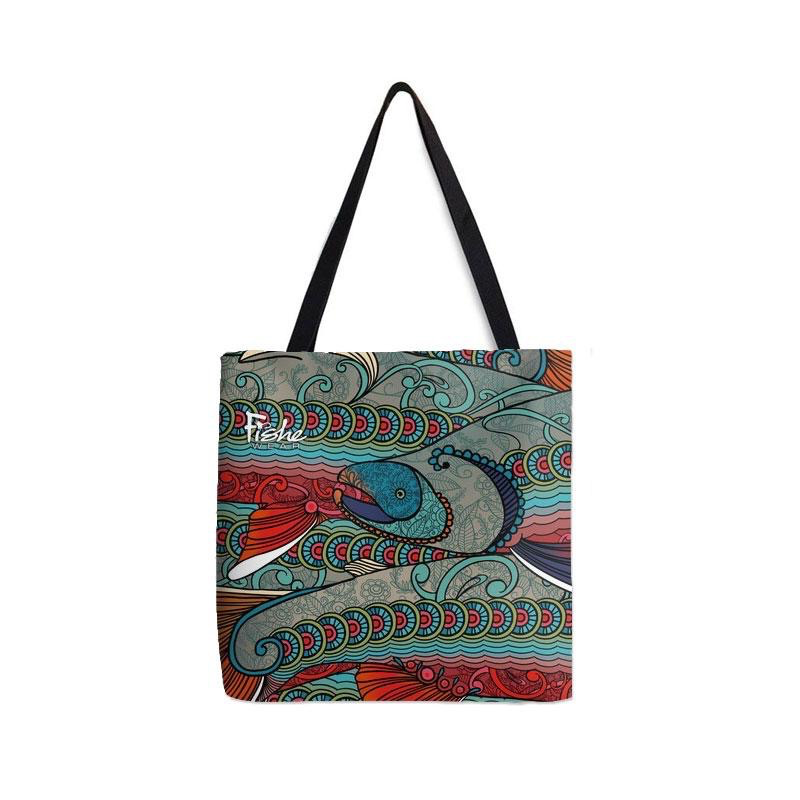 Tote-Abstract Char Design...Regular