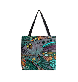 Fishewear Tote (Groovy Grayling)