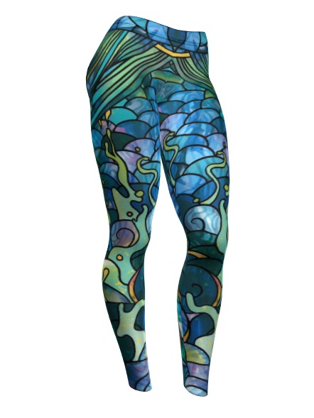 These tights are perfect to wear while fishing (with or without waders)