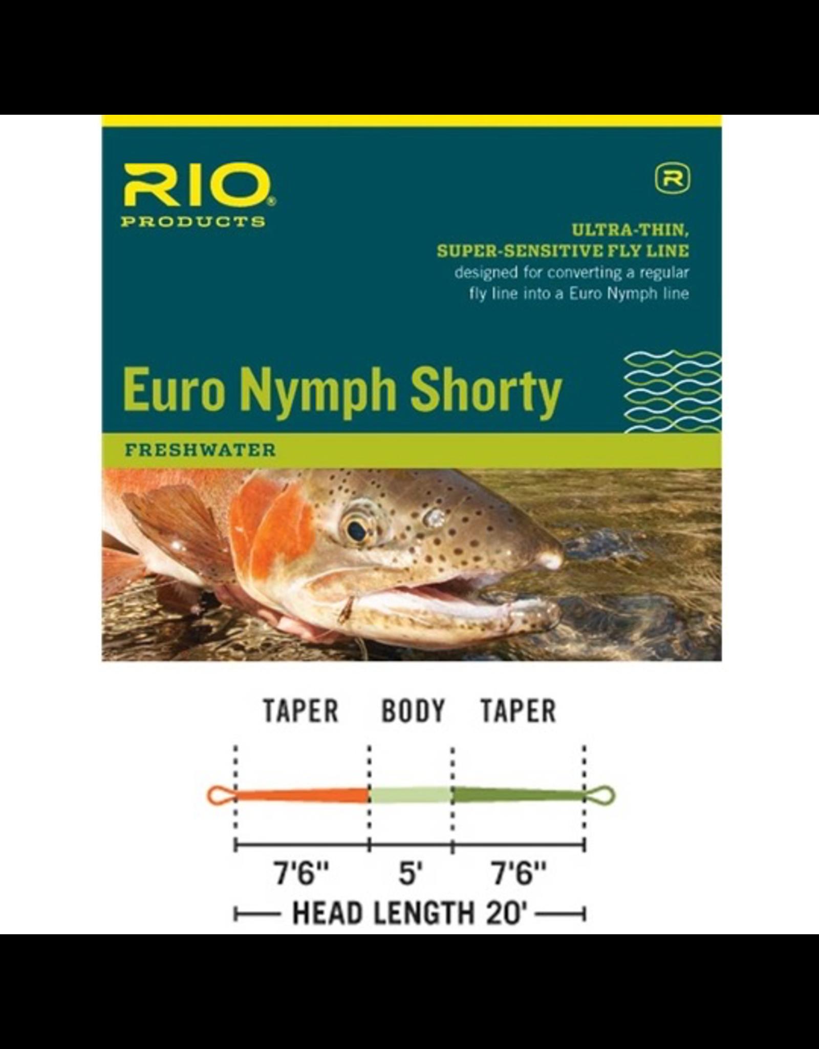 Rio Euro Nymph Shorty 2-5
