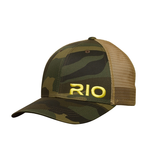 RIO Embroidered Logo Mesh Back Hat (Camo)
