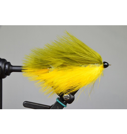 Galloup's Barely Legal Olive/Yellow  Conehead