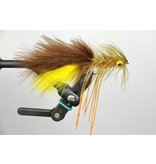 Galloup's Big Hole Bug Brown/Yellow