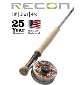 NEW ORVIS Recon 10' 3wt (4pc) Fly Rod