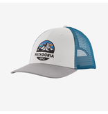 Patagonia Fitz Roy Scope LoPro Trucker Hat - White