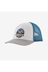 Patagonia Fitz Roy Scope LoPro Trucker Hat - White