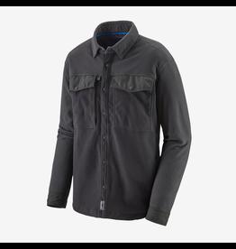 Patagonia Men's Long Sleeved Early Rise Snap Shirt Ink Black