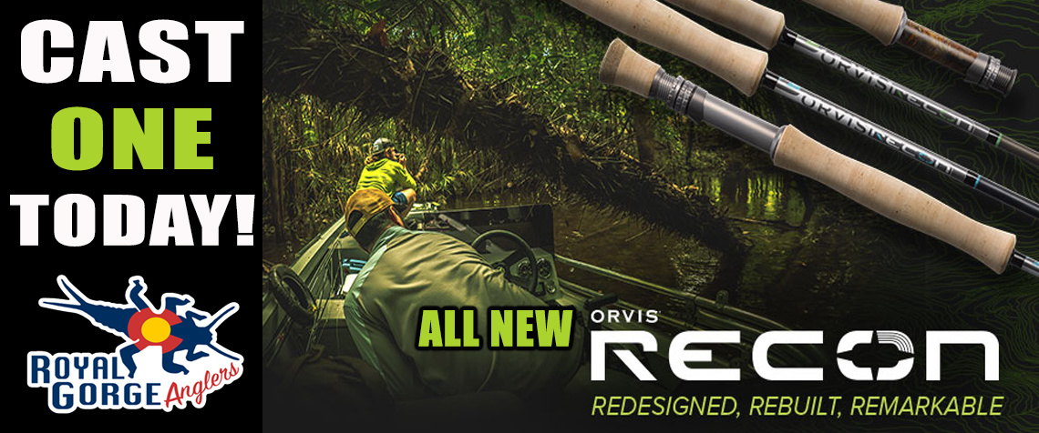 NEW Orvis Recon Flyrod