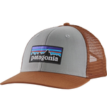 Patagonia P6 Trucker Hat Drifter Grey MId Crown