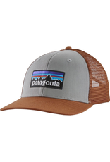 Patagonia P6 Trucker Hat Drifter Grey MId Crown