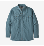 Patagonia Sol Patrol  II Men's Long Sleeve Shirt Pigeon Blue